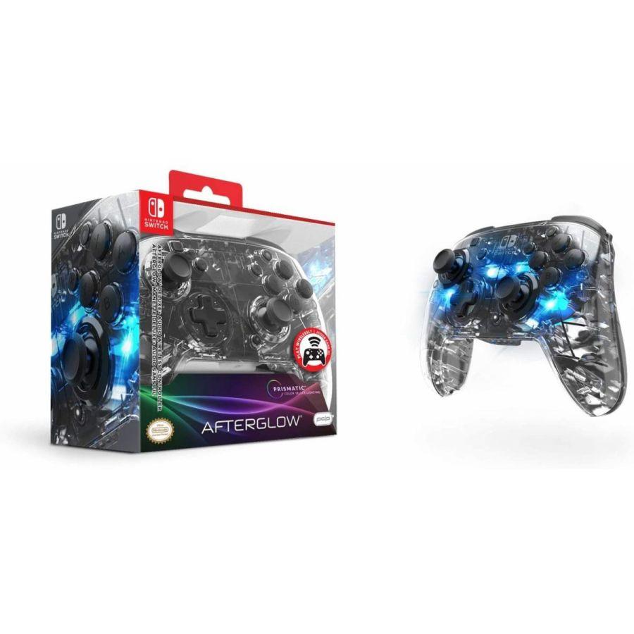 【新品】Nintendo Switch ニンテンドースイッチ ワイヤレス コントローラー AFTERGLOW アフターグロー スケルトン 背面ボタン・ジャイロ対応