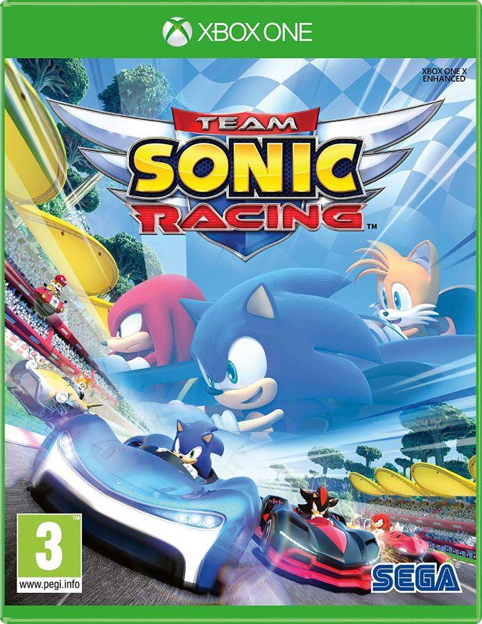 【新品】Team Sonic Racing チームソニックレーシング 輸入版 Xbox one