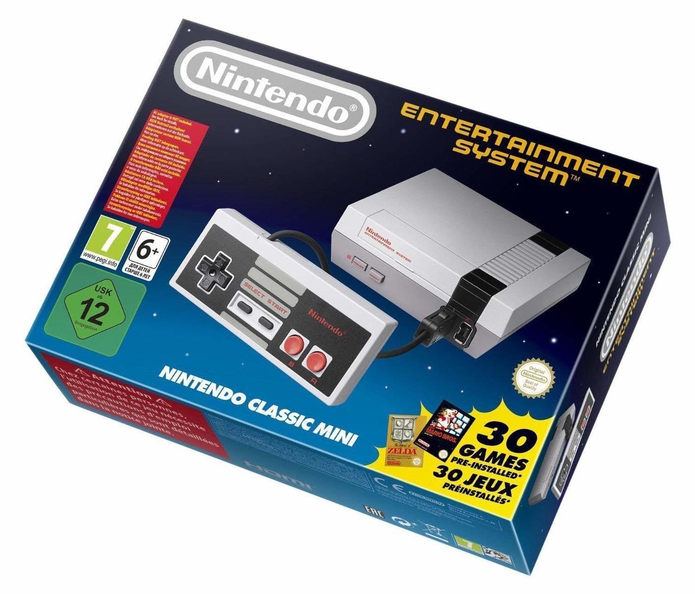 ニンテンドー クラシック ミニ ファミコン Nintendo Classic Mini Entertainment System 海外 欧州版