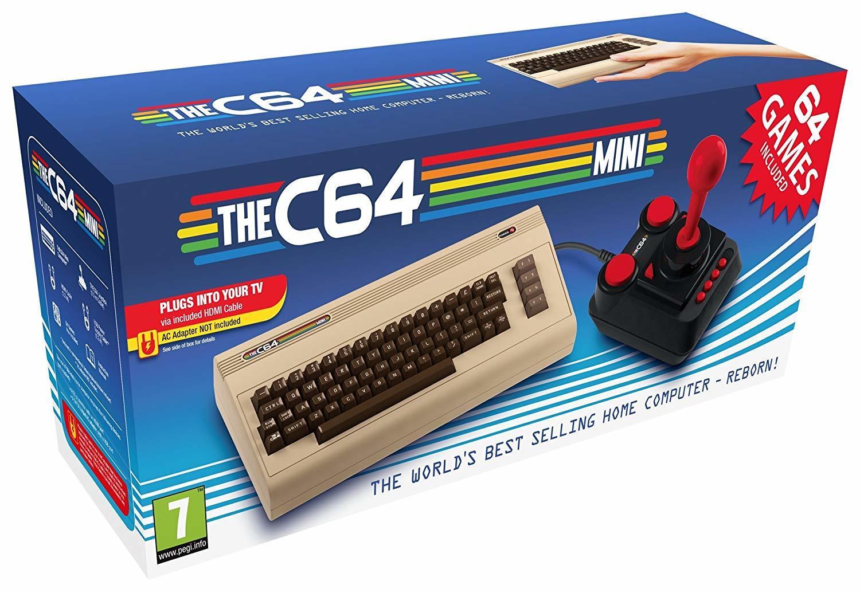THEC64 Mini Mini コモドール64ミニ 欧州版 欧州版 64タイトル収録 THEC64 輸入品, スマイルわん:66c7af75 --- jpworks.be