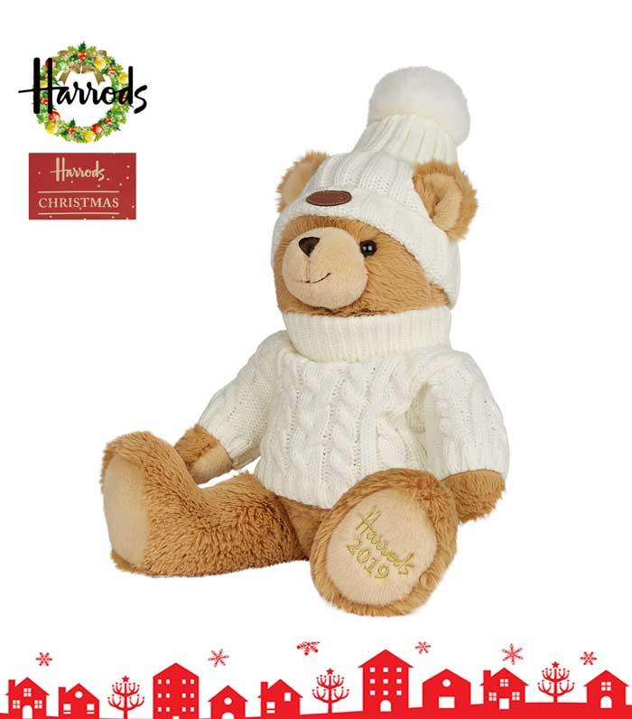 Harrods ハロッズ 2019 イヤーベア テディベアー ぬいぐるみ クリスマスベア