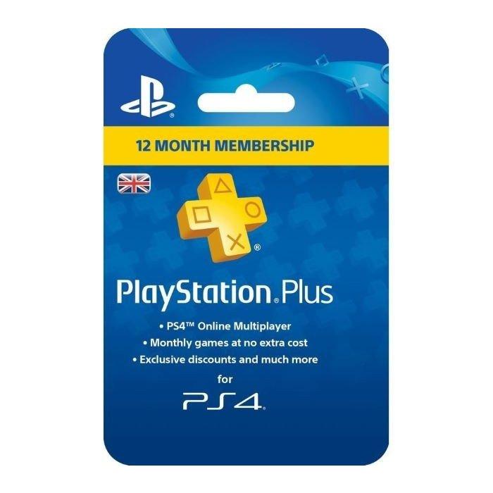 【取り寄せ】Playstation Plus - 1 Year Subscription Card (For PS3, PS4 & PSVita) /PS4 輸入版
