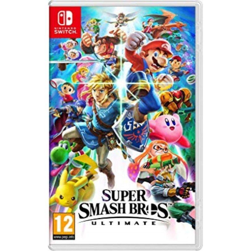 【取り寄せ】Super Smash Bros - Ultimate /Switch 輸入版