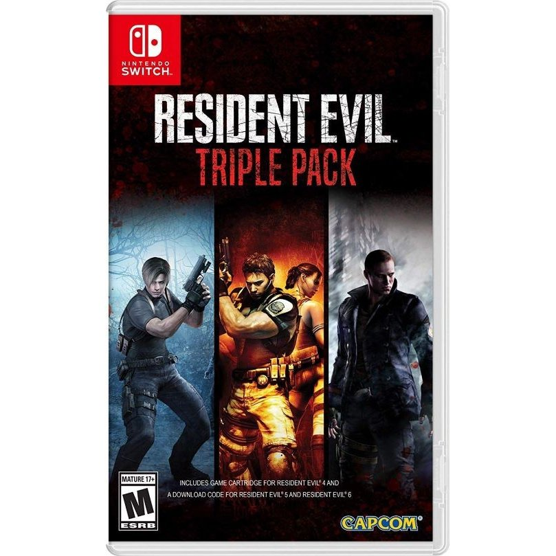 【取り寄せ】Resident Evil Triple Pack (#) Switch 輸入版