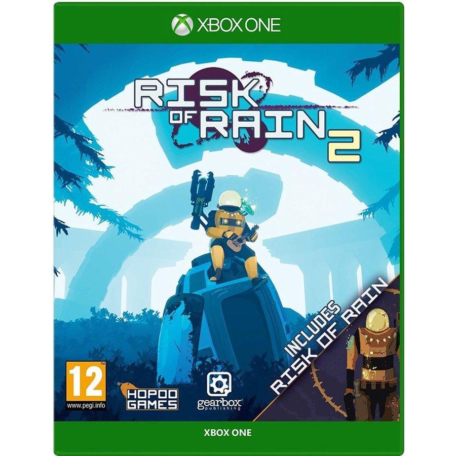 取り寄せ Risk 送料無料カード決済可能 of Rain 2 ◆セール特価品◆ One Bundle Xbox Includes 輸入版