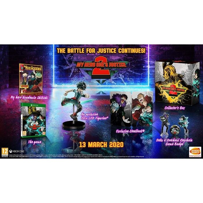 【取り寄せ】My Hero One's Justice 2 - Collector's Edition Xbox One 輸入版