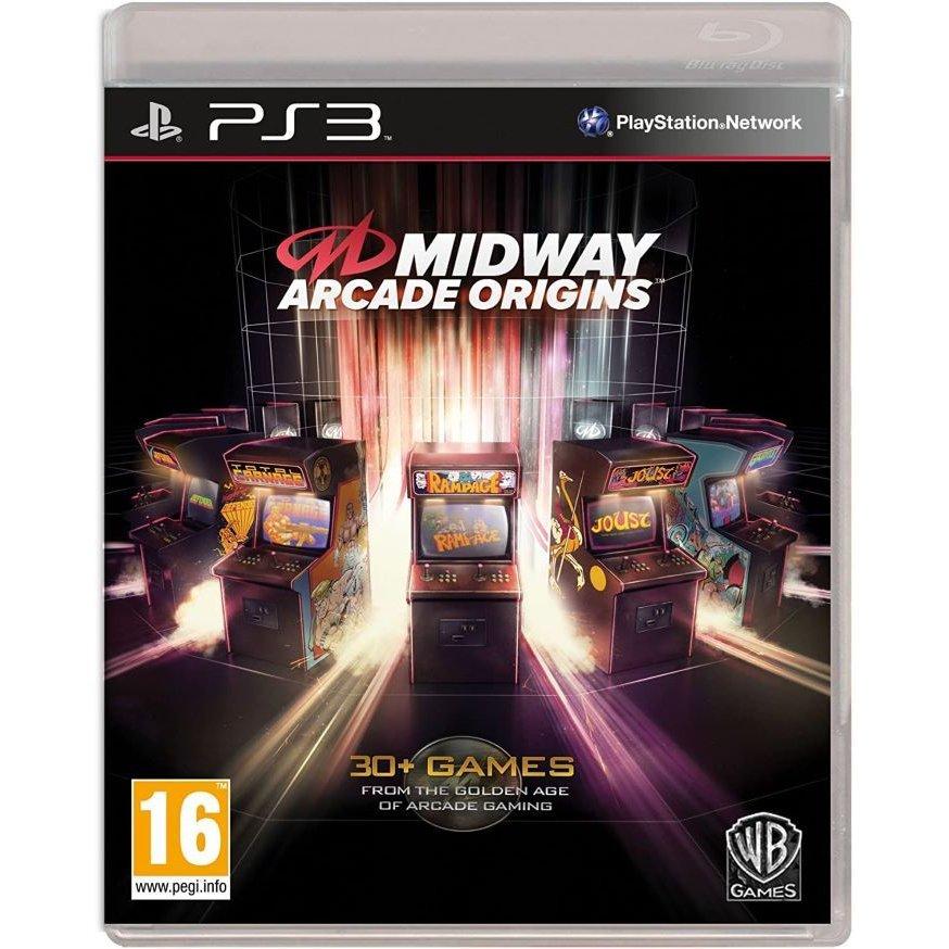 【取り寄せ】Midway Arcade Origins (Italian Box - Multi Lang In Game) (DELETED TITLE) PS3 輸入版
