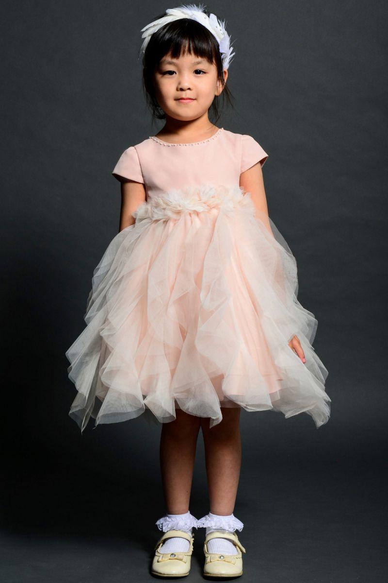 サイズオーダー 子供ドレス 子どもドレス 子供服 パーティードレス ワンピース 女の子 フラワーガール プリンセス 衣装 ピアノ発表会 結婚式 フォーマル 12361