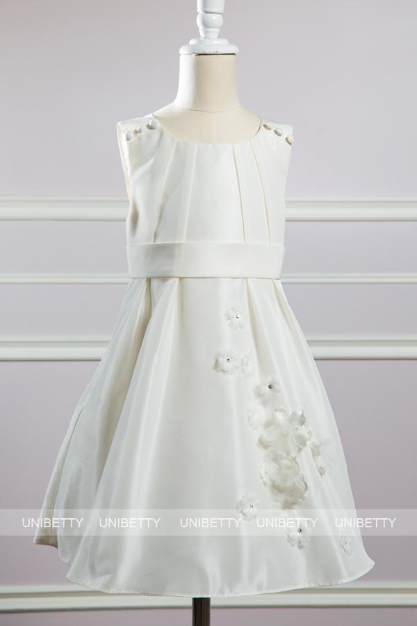 サイズオーダー 子供ドレス 子どもドレス 子供服 パーティードレス ワンピース 女の子 フラワーガール プリンセス 衣装 ピアノ発表会 結婚式 フォーマル 12366