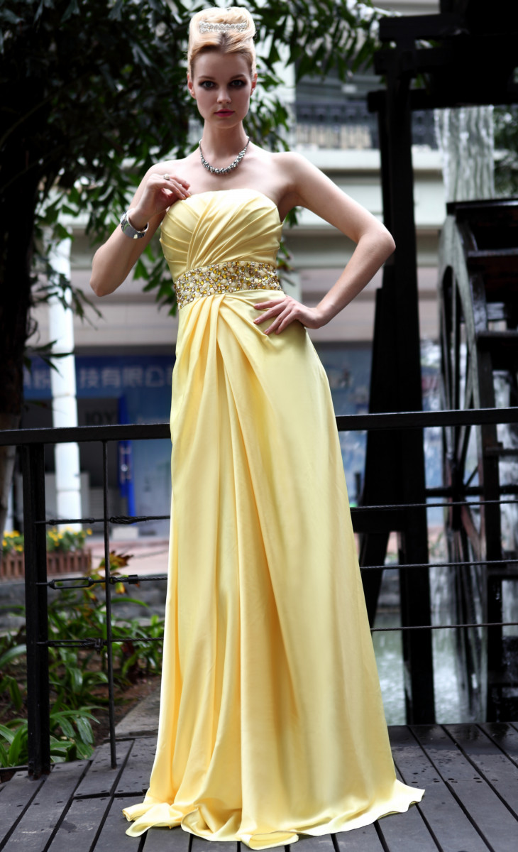Prom Dresses Dress Long Evening Stage Wedding Reception Concert Party Parties D30565