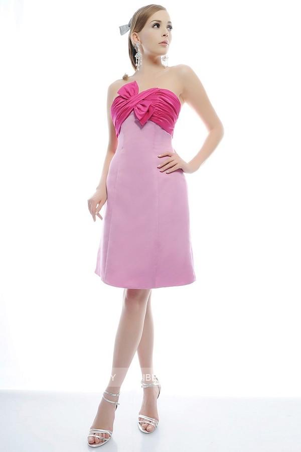 パーティードレス 結婚式 ドレス ショートドレス 謝恩会 2次会 ブタイダル ウェディング カラードレス サイズオーダー無料6018