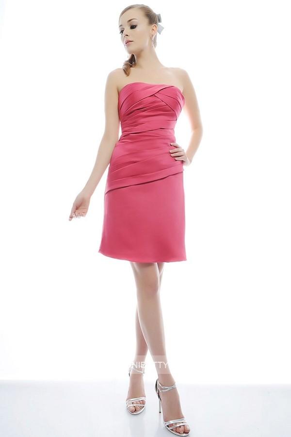 パーティードレス 結婚式 ドレス ショートドレス 謝恩会 2次会 ブタイダル ウェディング カラードレス サイズオーダー無料 6024