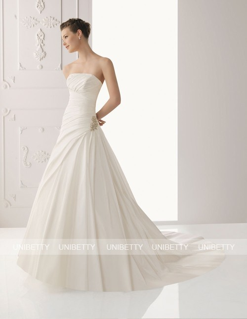 ウェディングドレス サイズオーダー無料 オーダードレス ウエディング Aライン WEDDING DRESS 披露宴 演奏会 結婚式 二次会 WS2313