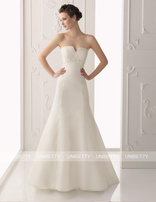 ウェディングドレス サイズオーダー無料 オーダードレス ウエディング Aライン WEDDING DRESS 披露宴 演奏会 結婚式 二次会 WS2254