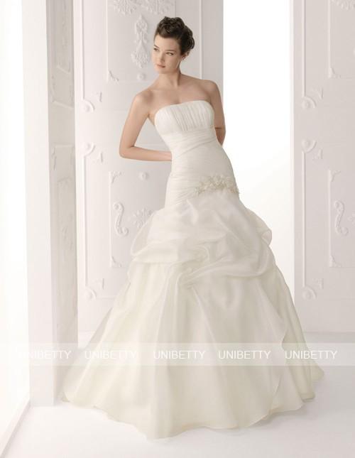 ウェディングドレス サイズオーダー無料 オーダードレス ウエディング Aライン WEDDING DRESS 披露宴 演奏会 結婚式 二次会 WS2251