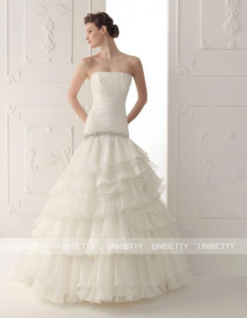 ウェディングドレス サイズオーダー無料 オーダードレス ウエディング Aライン WEDDING DRESS 披露宴 演奏会 結婚式 二次会 WS2314