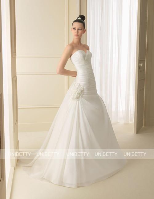 ウェディングドレス サイズオーダー無料 オーダードレス ウエディング Aライン WEDDING DRESS 披露宴 演奏会 結婚式 二次会 WS2132