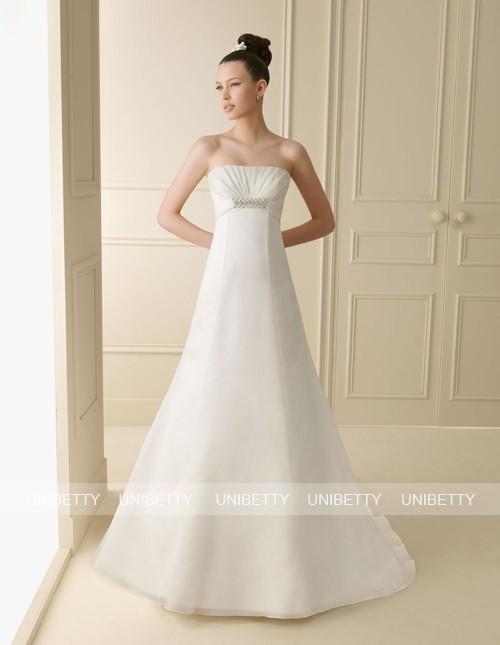 ウェディングドレス サイズオーダー無料 オーダードレス ウエディング Aライン WEDDING DRESS 披露宴 演奏会 結婚式 二次会 WS2138