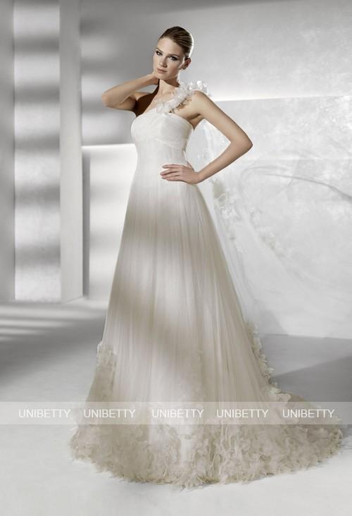 ウェディングドレス サイズオーダー無料 オーダードレス ウエディング Aライン WEDDING DRESS 結婚式 披露宴 演奏会 二次会 花嫁 WS2189