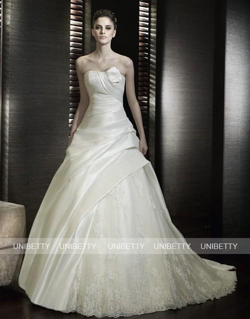 ウエディングドレス 結婚式 披露宴 演奏会 2次会 格安 激安 ブライダル 送料無料 WS2075