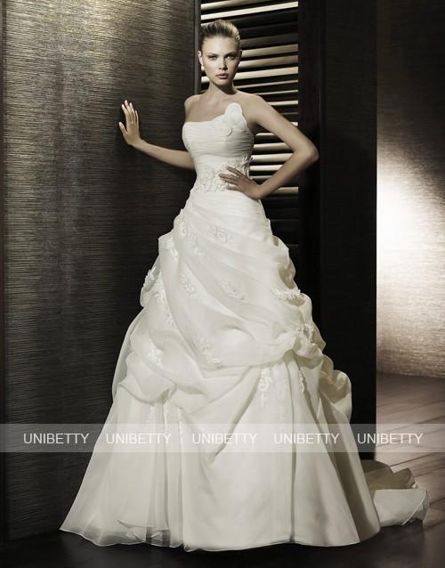 格安 ウエディングドレス 送料無料 披露宴 WS2072 激安 結婚式 ブライダル 2次会 演奏会