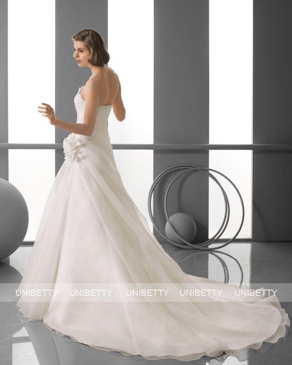 ウェディングドレス サイズオーダー無料 オーダードレス ウエディング Aライン WEDDING DRESS 披露宴 演奏会 結婚式 二次会 ws2414