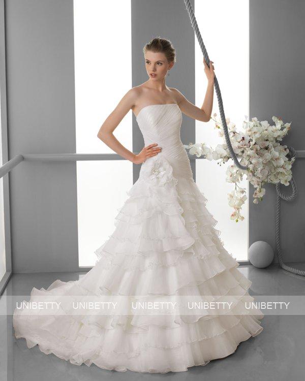 ウェディングドレス サイズオーダー無料 オーダードレス ウエディング Aライン WEDDING DRESS 披露宴 演奏会 結婚式 二次会 ws2430