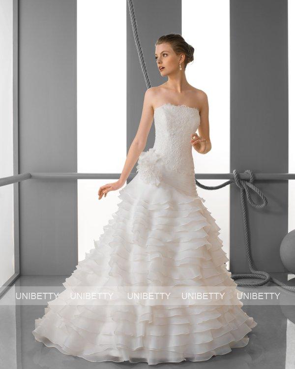 ウェディングドレス サイズオーダー無料 オーダードレス ウエディング Aライン WEDDING DRESS 披露宴 演奏会 結婚式 二次会 ws2436