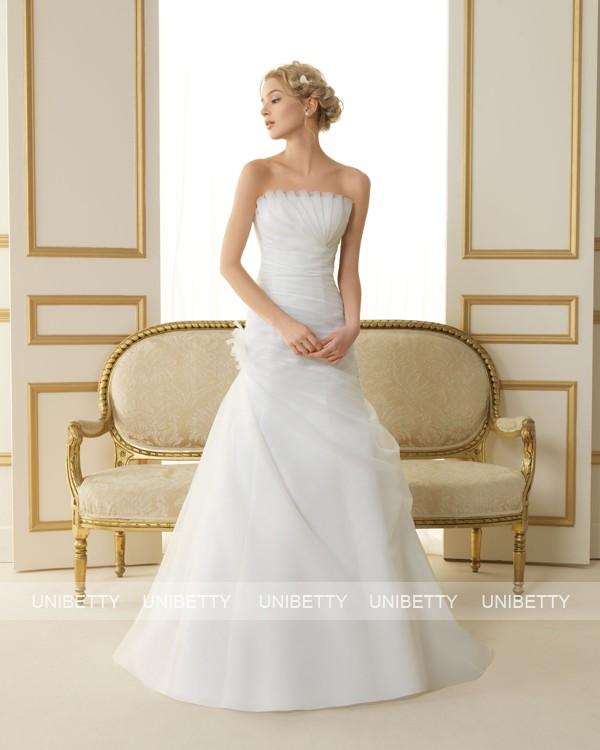 ウェディングドレス サイズオーダー無料 オーダードレス ウエディング Aライン WEDDING DRESS 披露宴 演奏会 結婚式 二次会 ws2454
