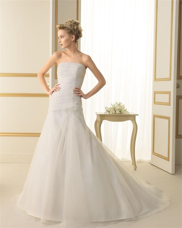 ウェディングドレス サイズオーダー無料 オーダードレス ウエディング Aライン WEDDING DRESS 披露宴 演奏会 結婚式 二次会 ws2455