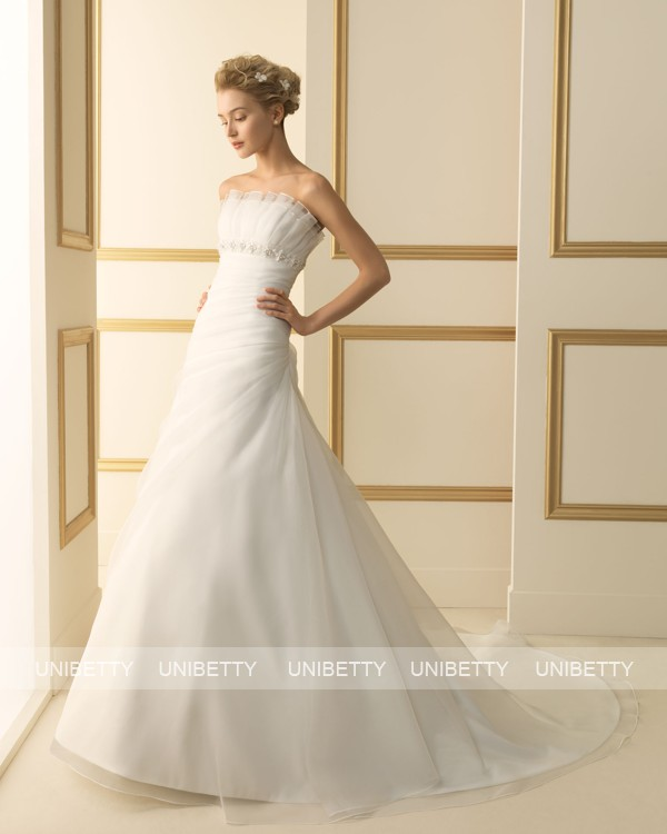 ウェディングドレス サイズオーダー無料 オーダードレス ウエディング Aライン WEDDING DRESS 披露宴 演奏会 結婚式 二次会ws2467