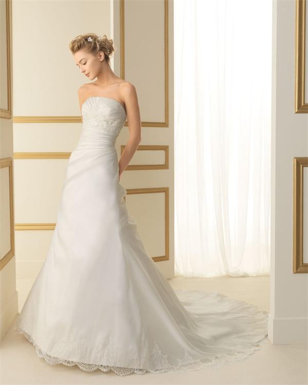ウェディングドレス サイズオーダー無料 オーダードレス ウエディング Aライン WEDDING DRESS 披露宴 演奏会 結婚式 二次会ws2468