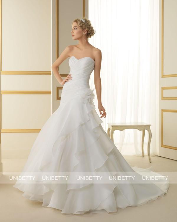 ウェディングドレス サイズオーダー無料 オーダードレス ウエディング Aライン WEDDING DRESS 披露宴 演奏会 結婚式 二次会ws2475