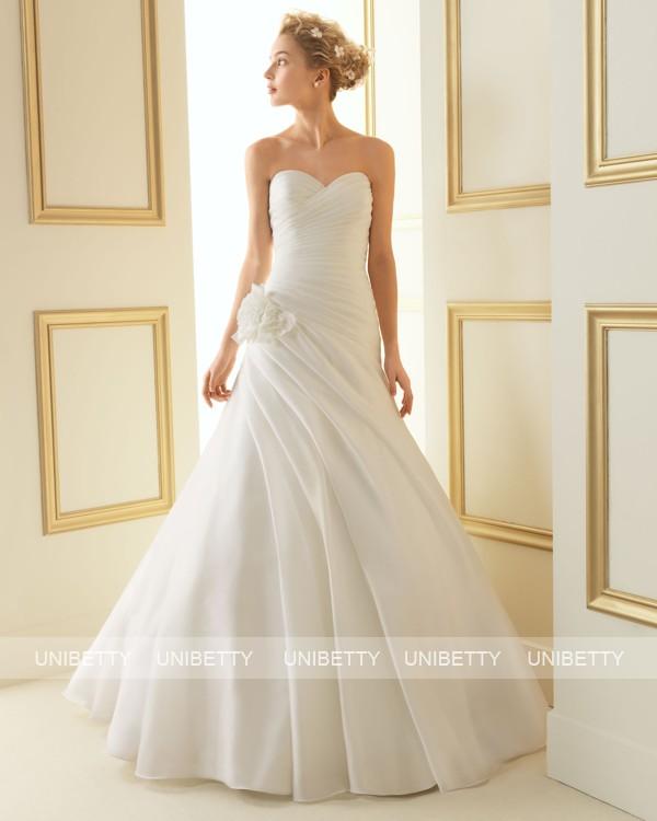 ウェディングドレス サイズオーダー無料 オーダードレス ウエディング Aライン WEDDING DRESS 披露宴 演奏会 結婚式 二次会ws2477