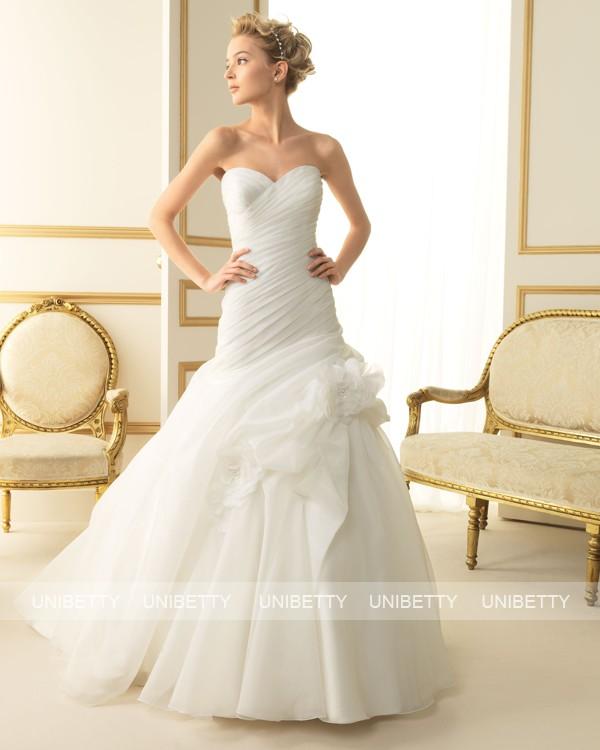 ウェディングドレス サイズオーダー無料 オーダードレス ウエディング Aライン WEDDING DRESS 披露宴 演奏会 結婚式 二次会 ws2497
