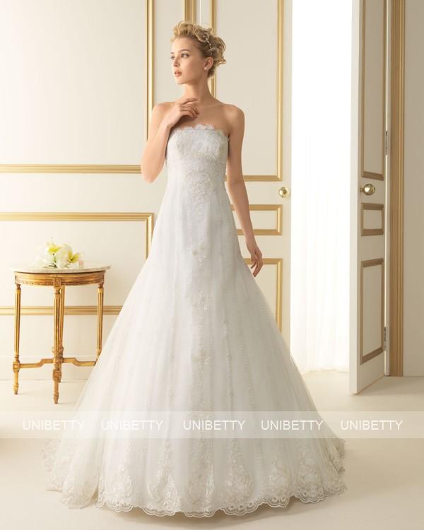 ウェディングドレス サイズオーダー無料 オーダードレス ウエディング Aライン WEDDING DRESS 披露宴 演奏会 結婚式 二次会 ws2491