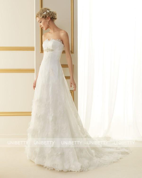 ウェディングドレス サイズオーダー無料 オーダードレス ウエディング Aライン WEDDING DRESS 披露宴 演奏会 結婚式 二次会 ws2495