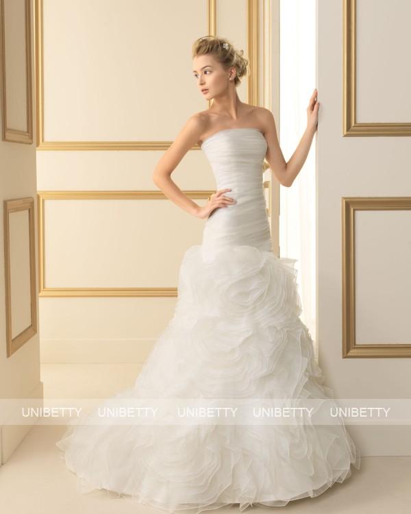 ウェディングドレス サイズオーダー無料 オーダードレス ウエディング Aライン WEDDING DRESS 披露宴 演奏会 結婚式 二次会 ws2515