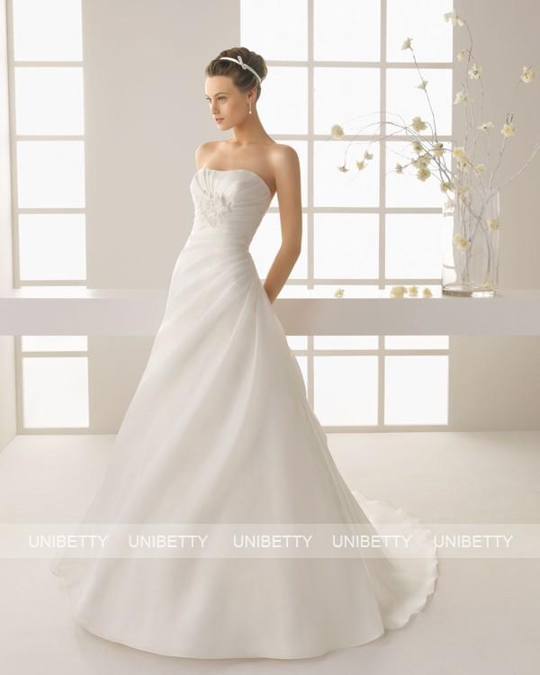 ウェディングドレス サイズオーダー無料 オーダードレス ウエディング Aライン WEDDING DRESS 披露宴 演奏会 結婚式 二次会 ws2558