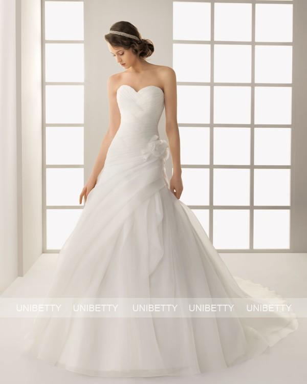 ウェディングドレス サイズオーダー無料 オーダードレス ウエディング Aライン WEDDING DRESS 披露宴 演奏会 結婚式 二次会 ws2560