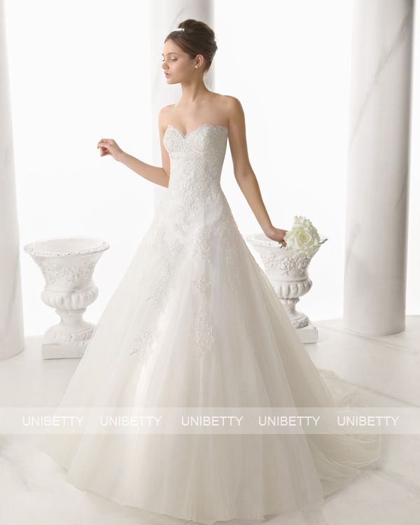 ウェディングドレス サイズオーダー 送料無料 Aライン 結婚式 二次会 披露宴 ws2674