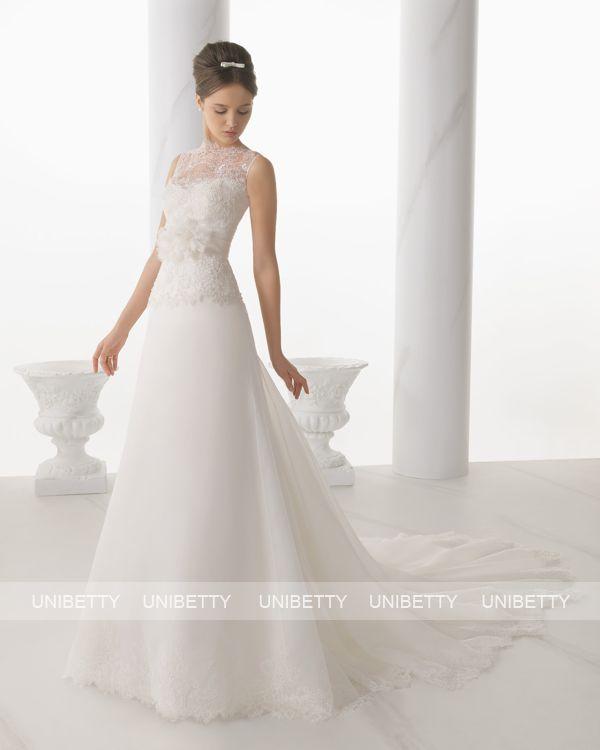 ウェディングドレス サイズオーダー 送料無料 Aライン 結婚式 二次会 披露宴 ws2704