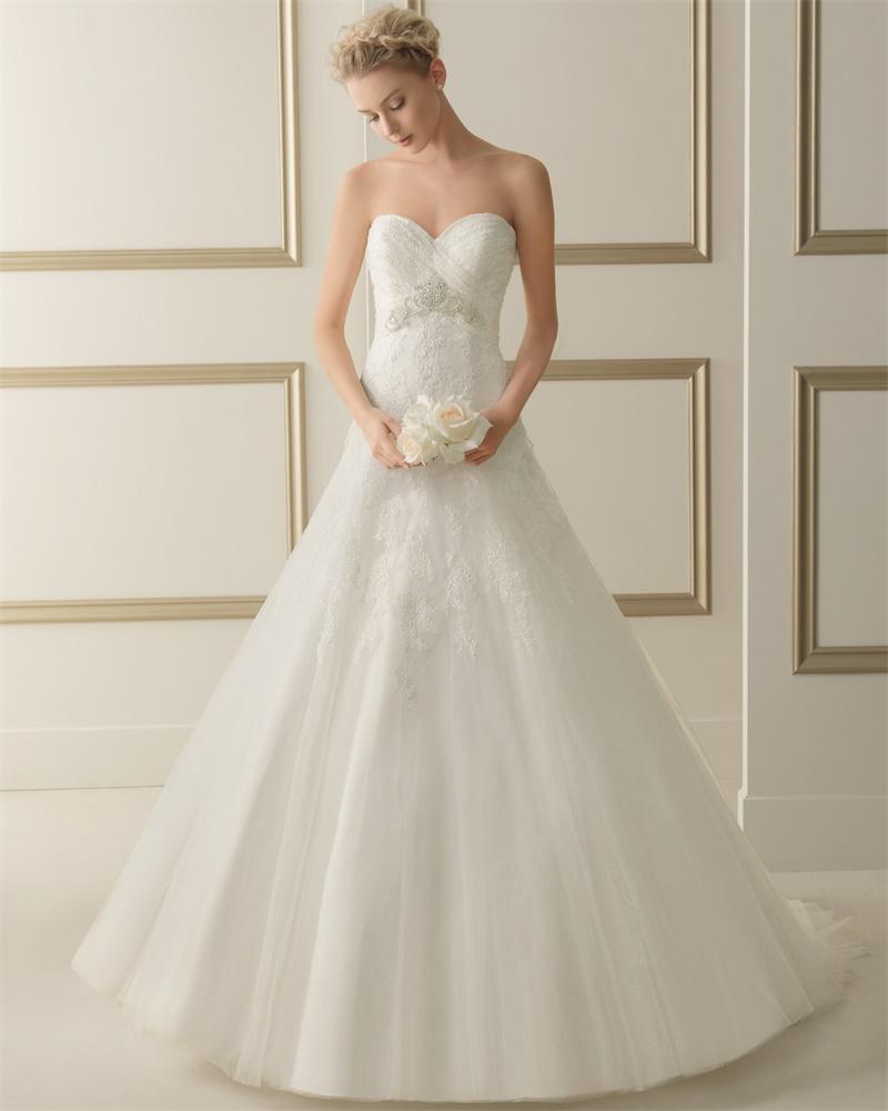 ウェディングドレス サイズオーダー 送料無料 プリンセスライン結婚式 二次会 披露宴 ws2642