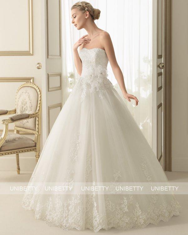 【送料無料】ウェディングドレス ウエディングドレス プリンセス サイズオーダー 格安 披露宴 結婚式 二次会 ws2643