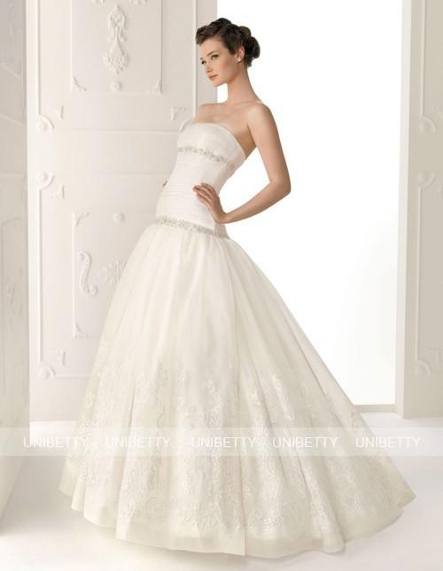 ウェディングドレス_マーメイドライン_結婚式_WS2276