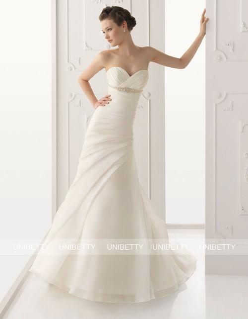 ウェディングドレス サイズオーダー無料 オーダードレス ウエディング マーメイドライン WEDDING DRESS 披露宴 演奏会 結婚式 二次会 WS2281