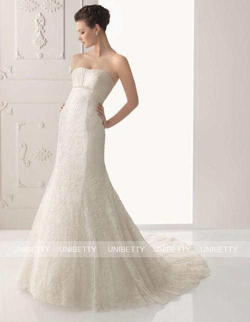ウェディングドレス_マーメイドライン_結婚式_WS2263