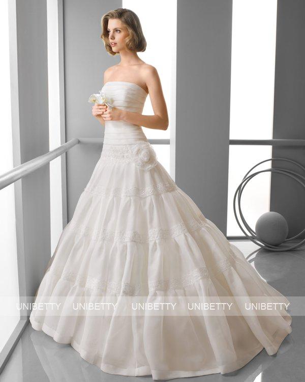 ウェディングドレス サイズオーダー無料 オーダードレス ウエディング プリンセスライン WEDDING DRESS 披露宴 演奏会 結婚式 二次会 ws2418