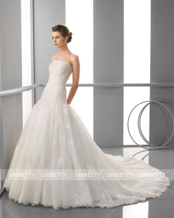 ウェディングドレス サイズオーダー無料 オーダードレス ウエディング プリンセスライン WEDDING DRESS 披露宴 演奏会 結婚式 二次会 ws2399