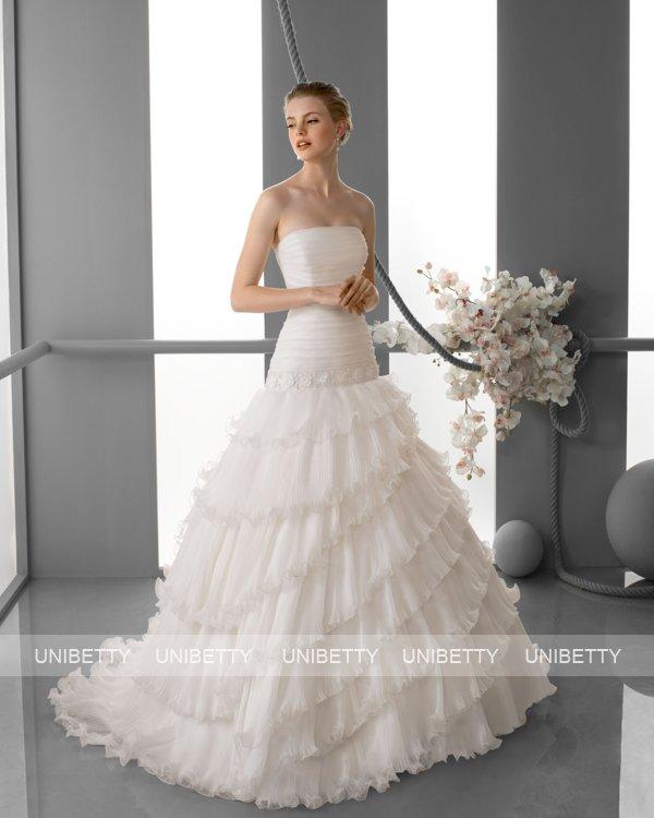 ウェディングドレス サイズオーダー無料 オーダードレス ウエディング プリンセスライン WEDDING DRESS 披露宴 演奏会 結婚式 二次会 ws2426